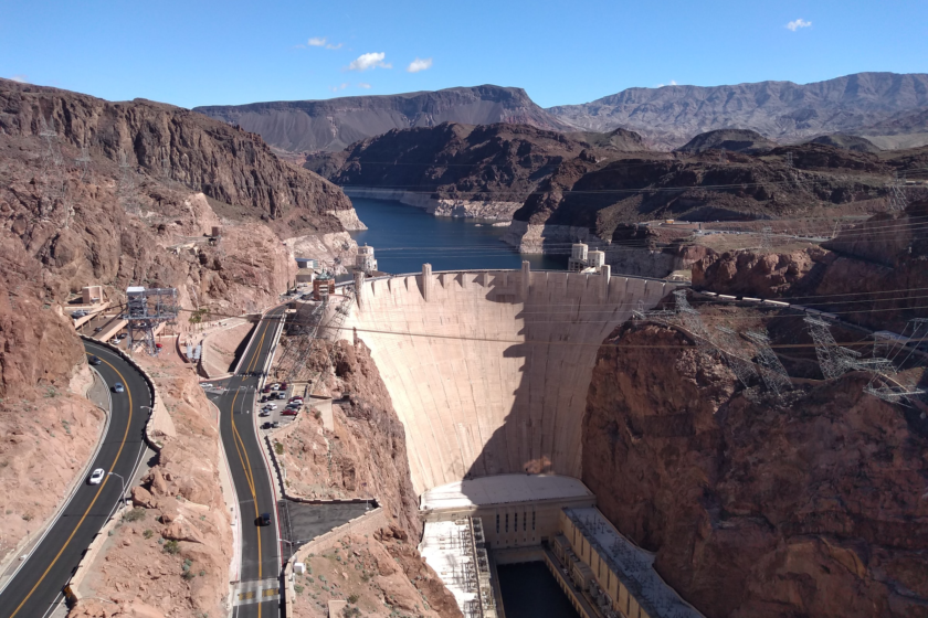 Hoover Dam, une construction monumental à 3/4 d'heures du Strip Las Vegas